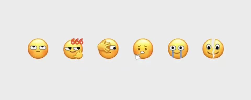 微信新表情,H