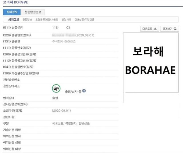 韩国化妆品公司抢注 BTS V创造的专有术语